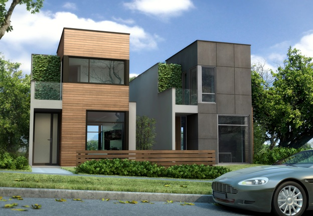 what a wonderful refreshing sight to see someone embracing modern architecture - Modern Townhouse Architecture