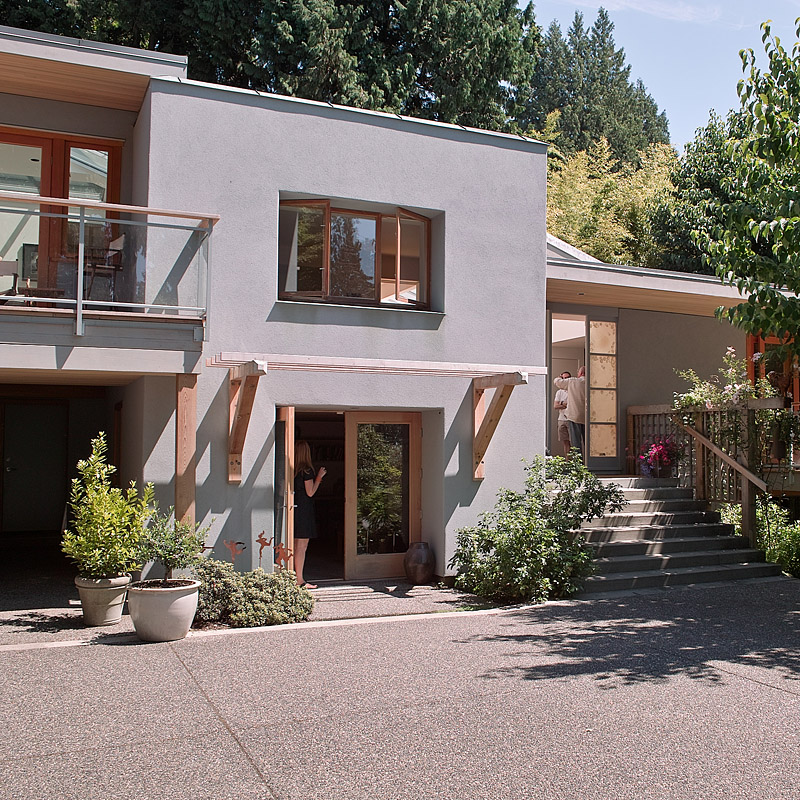 Modern Homes Front And Back: Finding West Coast Modern Houses