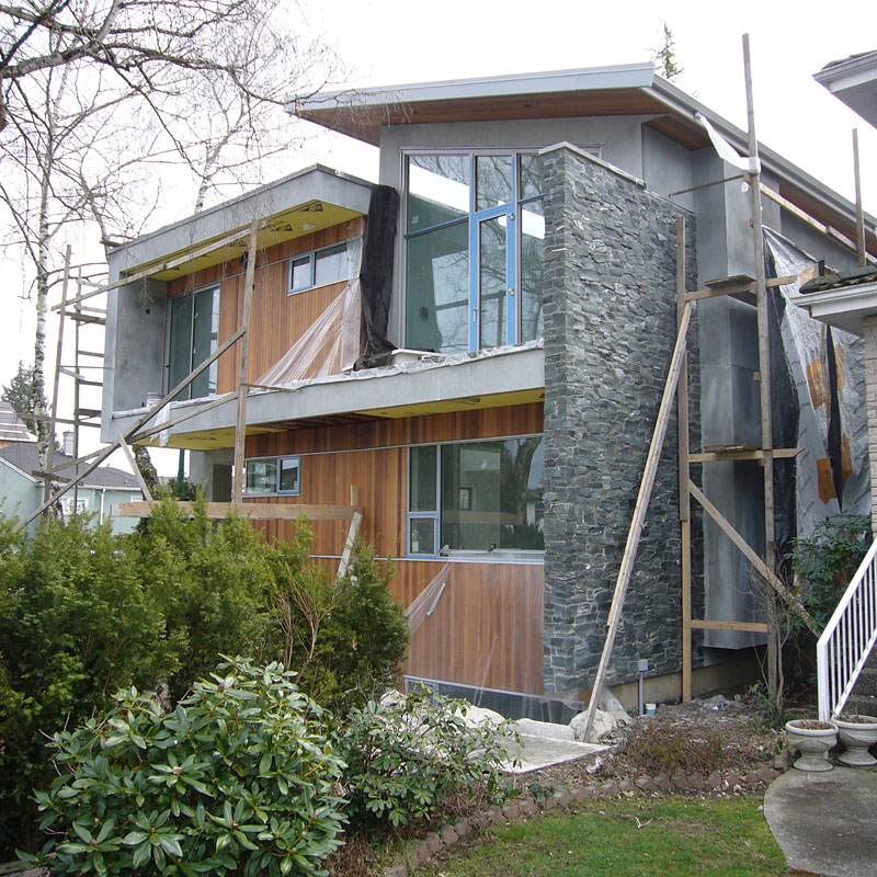Modern Home Design October 2012: Under Construction : 3525 Macdonald Street