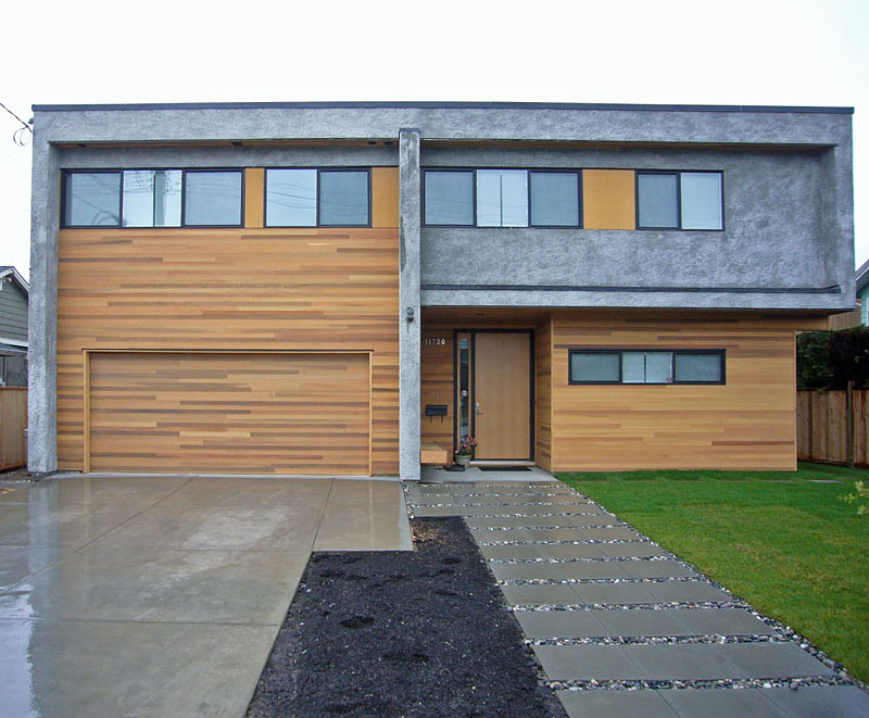 Cedar Cladding Modern Vancouver Houses Page 2