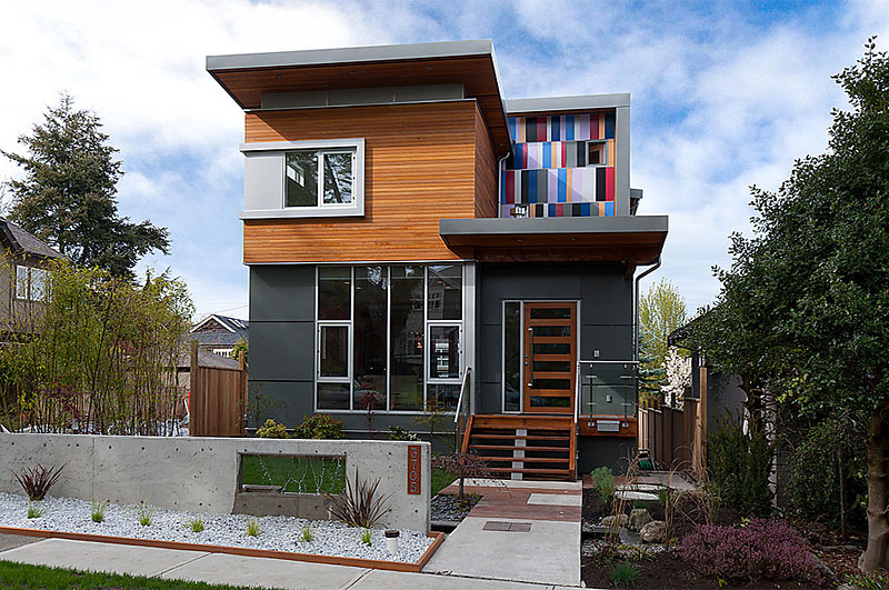 Cedar cladding modern vancouver houses page 2 for West coast home design