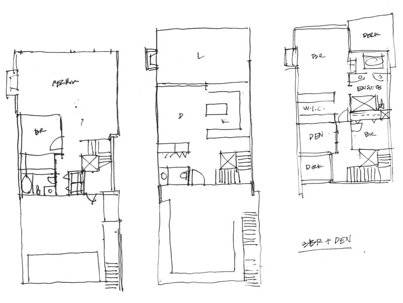 floorplan sketch