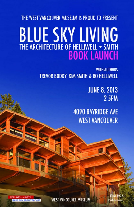 blue sky living - book launch