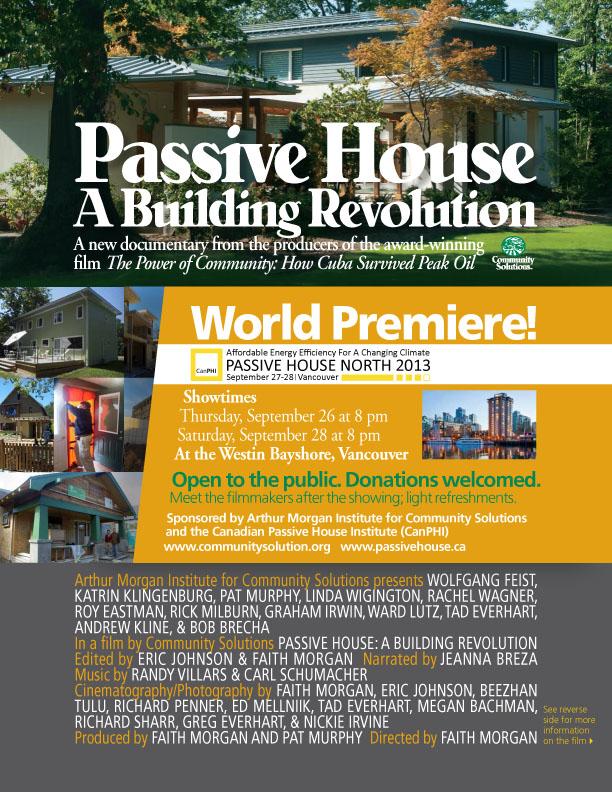 passive house film premiere