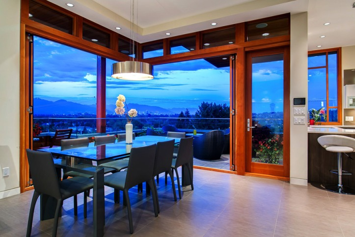 3608 quesnel - dining room