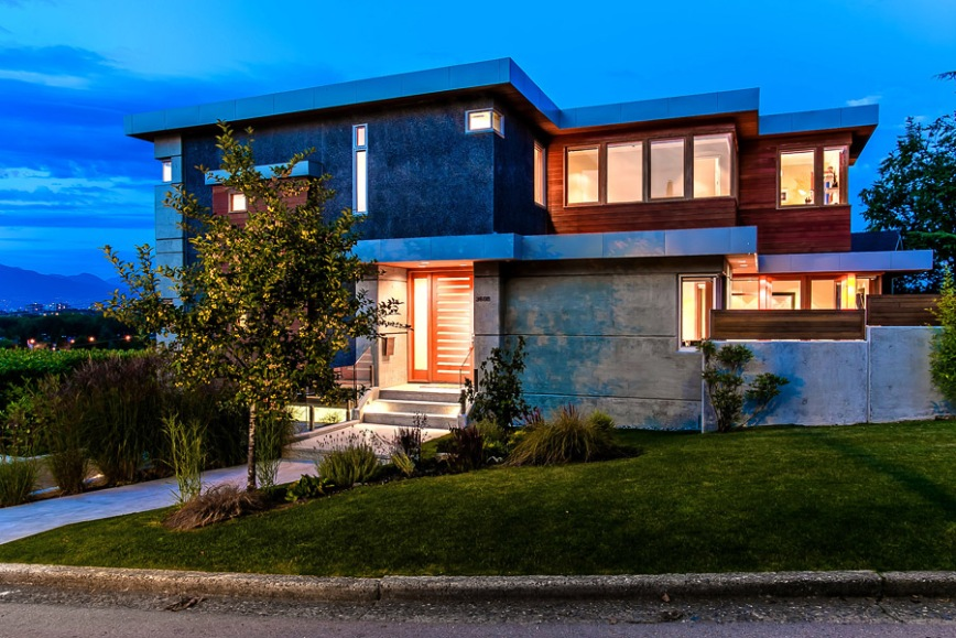 Modern houses vancouver home decor for Modern home decor vancouver