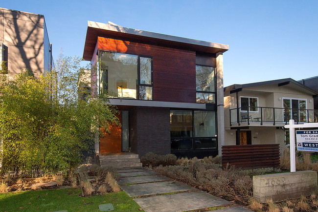 Stucco vancouver modern residential blog Stucco modular homes