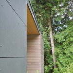 russet residence - cladding detail