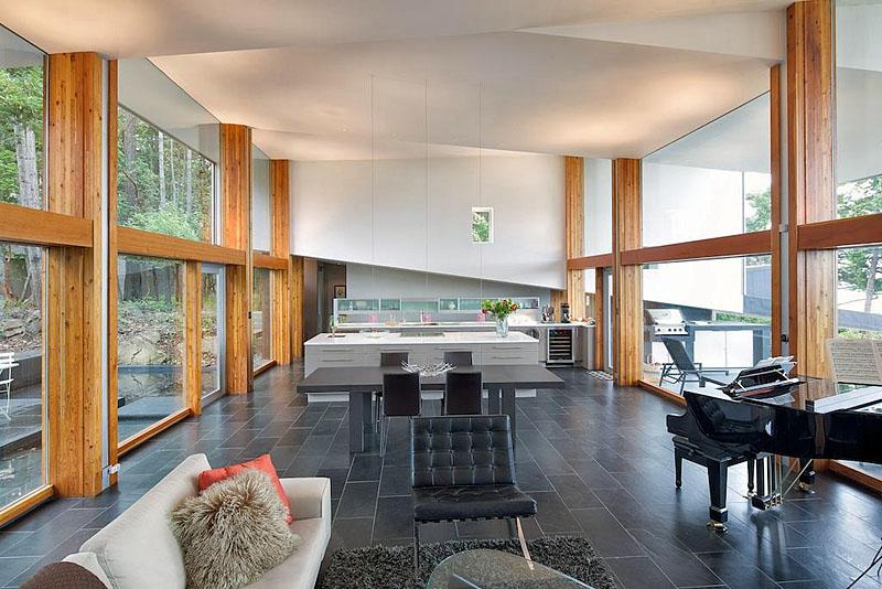 9808 spalding road - living room