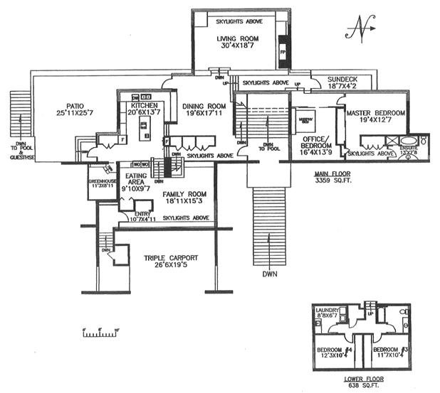 530 salmon - upper floor plan