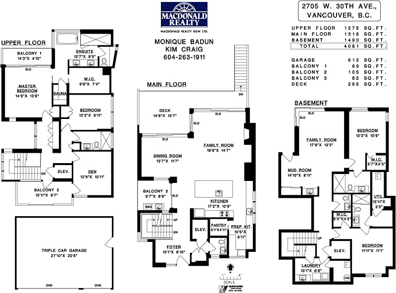 2705 west 30th - floorplan