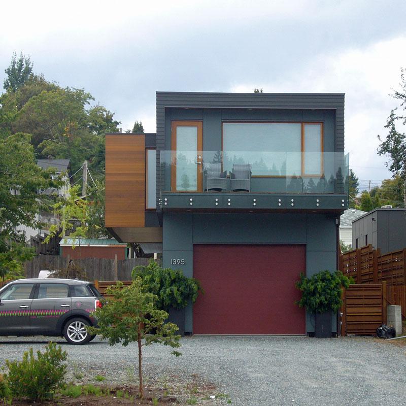 Contemporary Exterior Design Modern Wood Siding: Island Modern : 1395 Stewart Avenue, Nanaimo