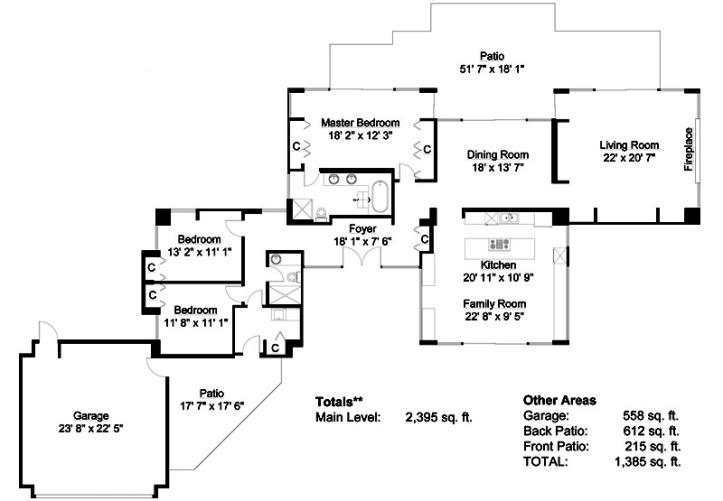 536 centennial - floor plan