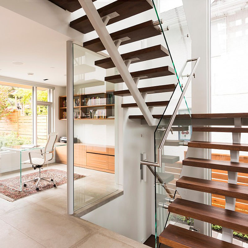 3455 west 15th - stairs