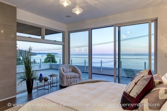 5939 marine drive - bedroom with a view