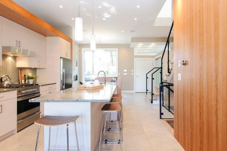 969 west 18th - kitchen island