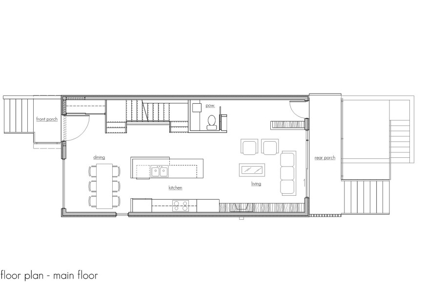 969 west 18th - floor plan 1