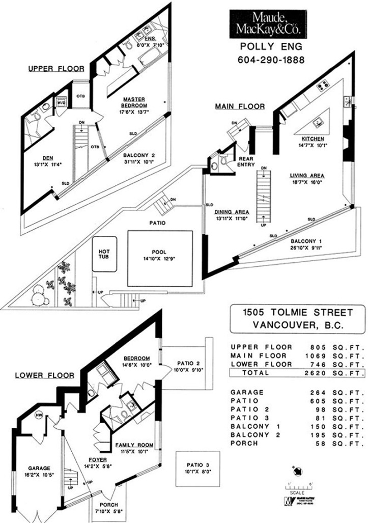 1505 tolmie - floorplans