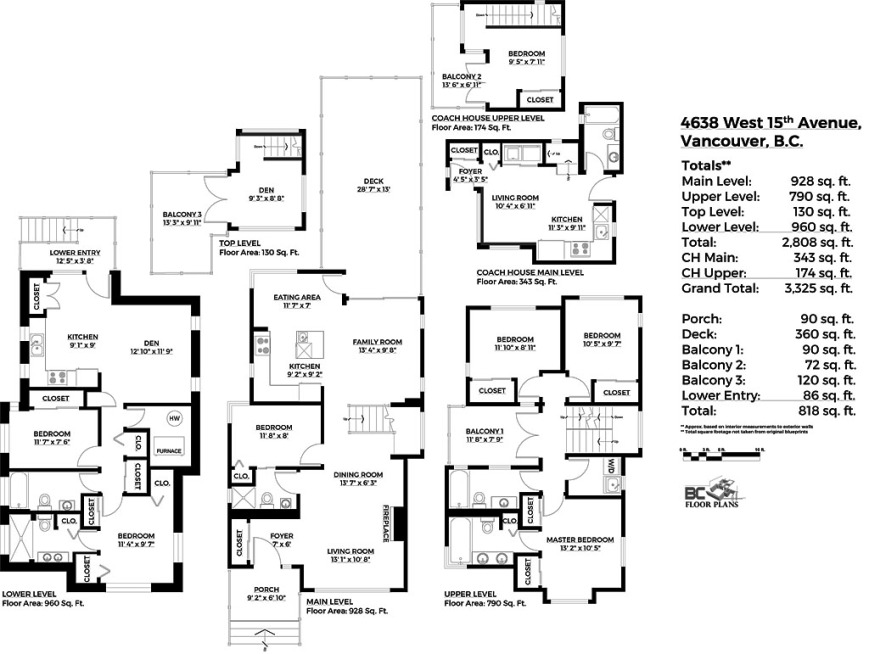 Visio-Floorplan - 4638 West 15th Avenue, Vancouver.vsd