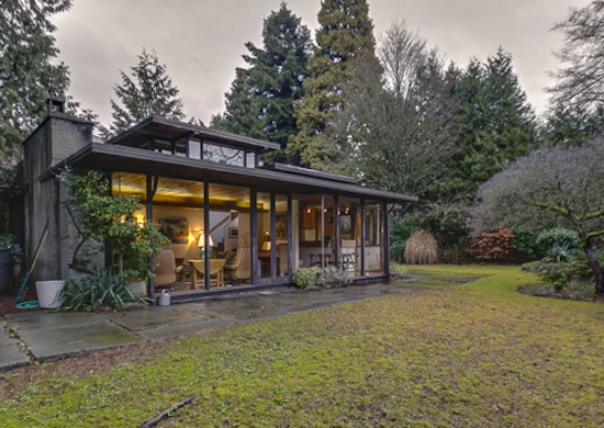 Mid century modern modern vancouver houses for Mid century modern home plans for sale
